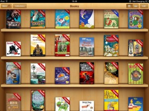 iBooks is easy to search and most books are dowloadable as samples first!