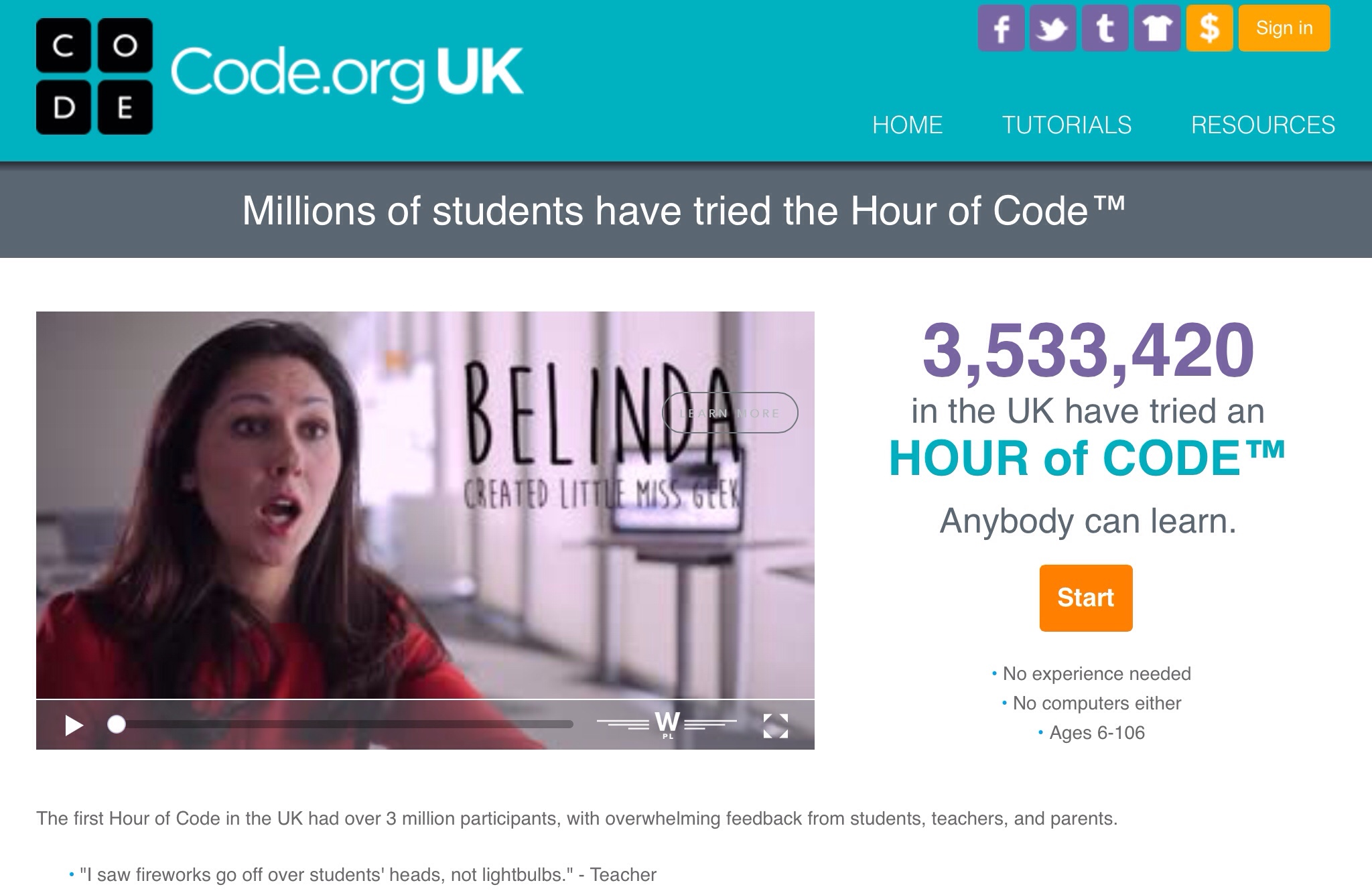 On the Hour of Code….