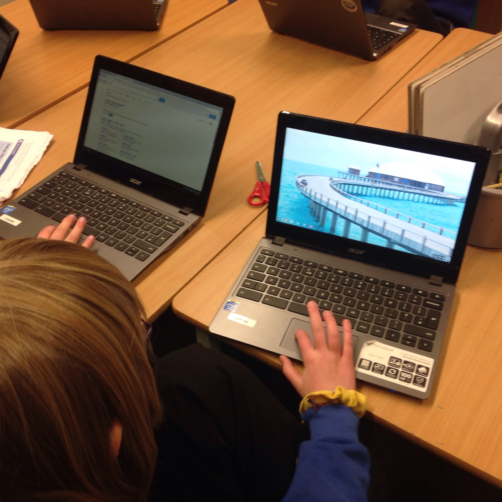 A day of Google Apps in a Primary Classroom